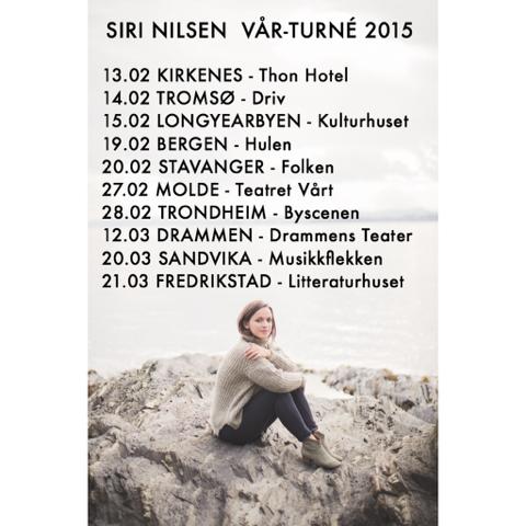 Vår turné  2015